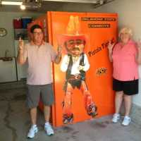 Pistols Firing Pete OSU Orange Power Tornado Alley Armor custom color bolt together safe room