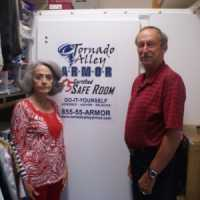 Dallas, TX DIY bolt together storm shelter custom install in closet 2